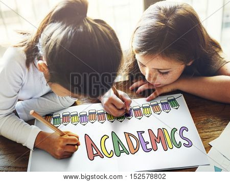 Academics Education School Learning Study Concept
