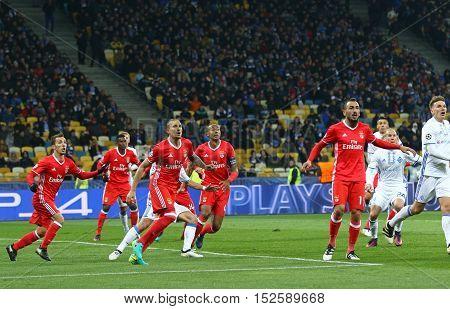 Uefa Champions League: Fc Dynamo Kyiv V Benfica