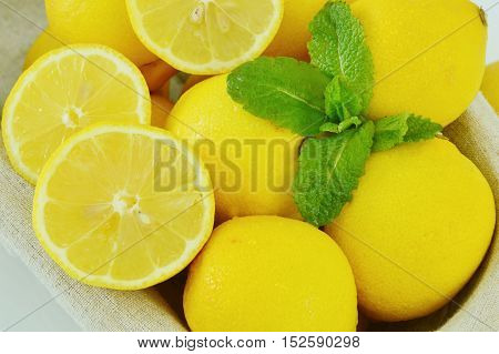 be fresh and soothes your body with mint and lemon.