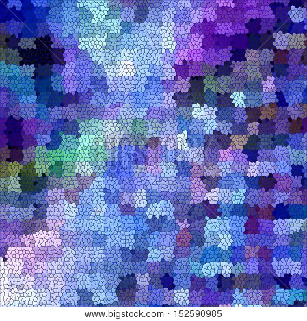 Abstract coloring background of the horizon gradient with visual pagecurl, lighting, mosaic and stained glass effects, good for your project design