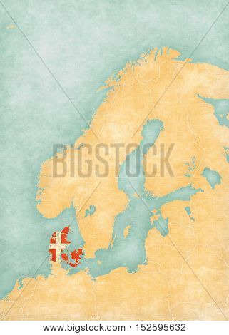 Map Of Scandinavia - Denmark