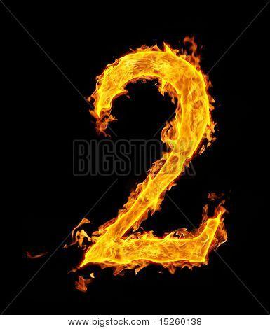 2 (zwei), fire Abbildung