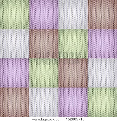 Multicolored collage in chessboard order as abstract background.Digitally generated image.