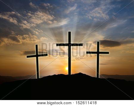 Christian Cross Image