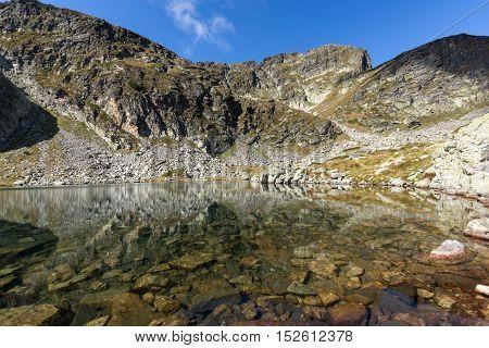 Clear Sky Elenski lakes and Malyovitsa peak, Rila Mountain, Bulgaria