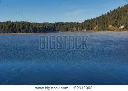 Clean waters of Golyam Beglik Reservoir, Pazardzhik Region, Bulgaria