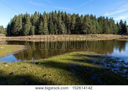Amazing landscape of Shiroka polyana Reservoir, Pazardzhik Region, Bulgaria