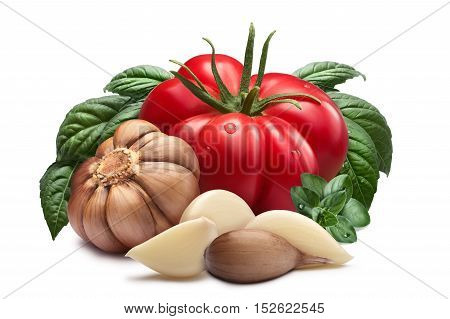 Tomato, Garlic, Basil, Paths