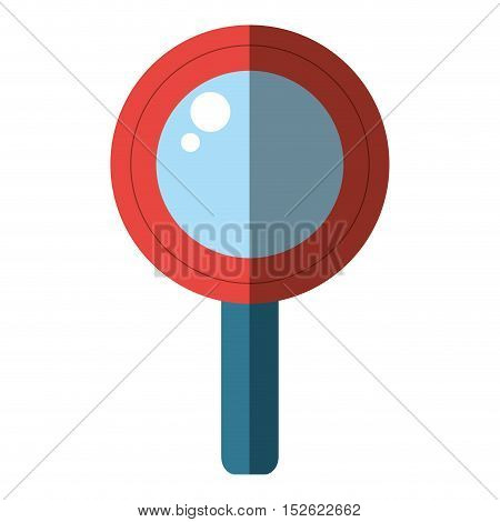 magnifying glass search isolated icon vector illustration design