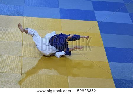 Girls Compete In Judo
