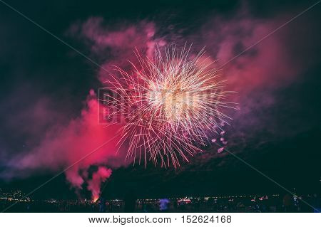 fourth of july fire works in coney island
