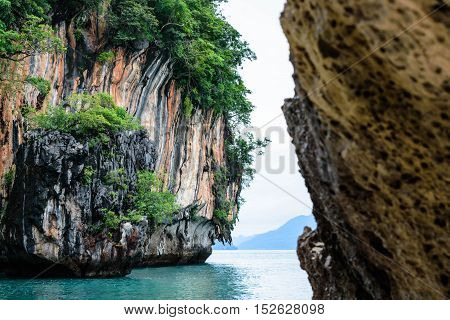 Koh Hong Island Krabi In Thailand Selective Focus