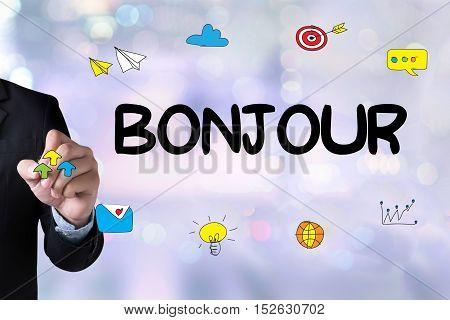 Hi Greet  Hi Bonjour Ciao Hola Hello