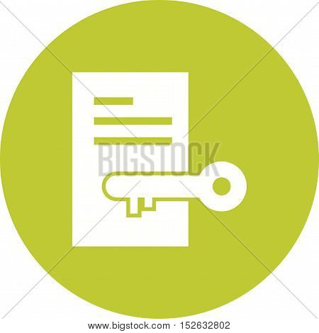 Private, message, document icon vector image. Can also be used for web. Suitable for mobile apps, web apps and print media.