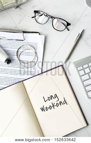 Long Weekend Relaxation Vacation Holiday Concept