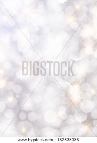 Vertical Gradient Pink Texture Background Bokeh Border