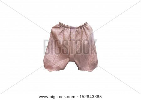 loincloth for baby Thai style on isolated