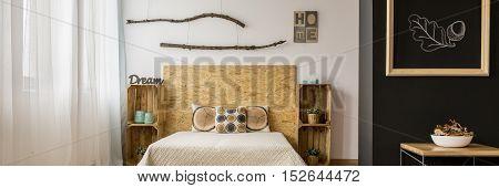Autumn Bedroom Interior