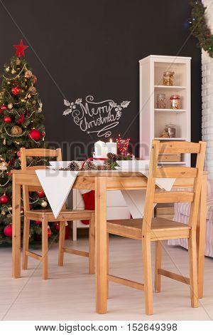 Noel Dinner Table Decoration