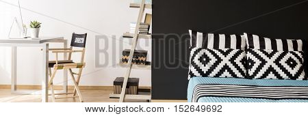 Minimalist Spacious Bedroom