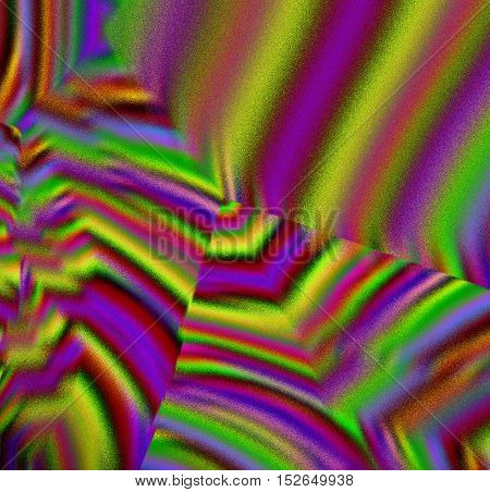 Abstract Blurred Rainbow Square Form Bright Background