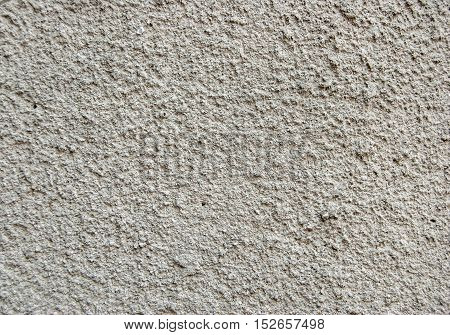 Grey plastered wall as art abstract background