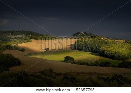 Italy, Tuscany, Pisa, Casaglia (montecatini Val Di Cecina)