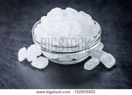 Slate Slab With Rock Sugar
