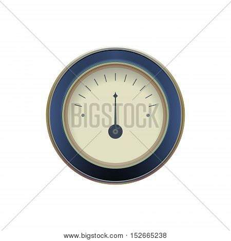 illustration of a pressure meter gauge Vector illustration