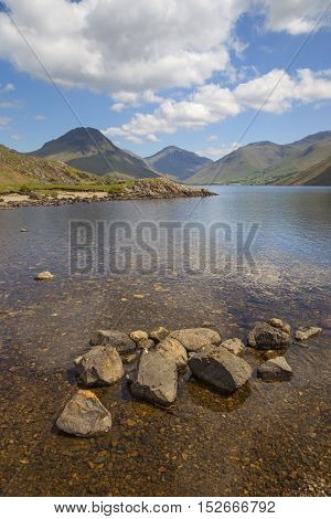 Pretty Wast Water, Lake District, Cumbria, England