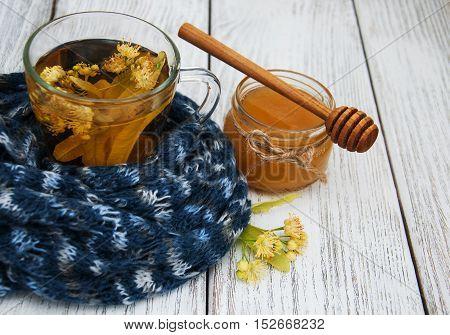 Linden Tea With Honey