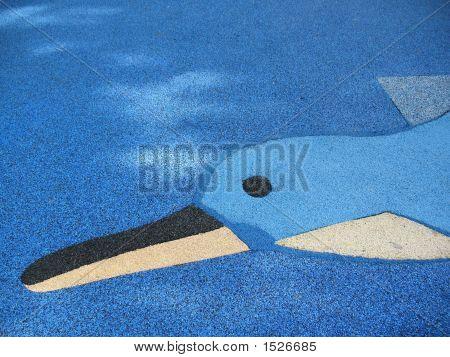 Dolphin On Floor