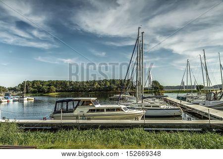 Yachts In Yacht Club