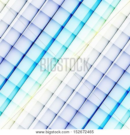 Seamless background pattern. Diagonal blue strips abstract pattern.