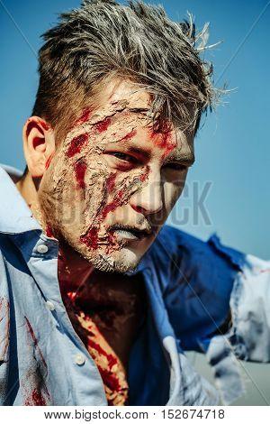 Halloween Zombie Man