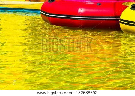 The Water In The Yellow Pool, Playground For The Ride