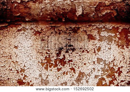 Texture, Pattern, Background. Old Paint. Concrete Wall Cracked Paint, Paint Abstractly Behind The Co