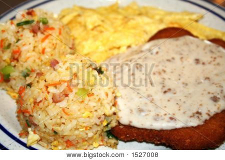Country Fried Breakfast
