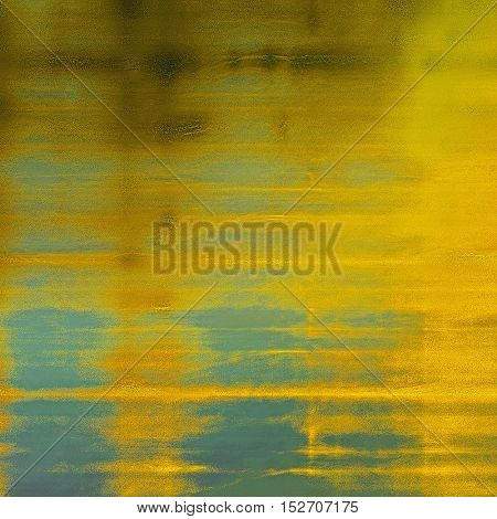 Veined grunge background or scratched texture with vintage feeling and different color patterns: yellow (beige); brown; gray; blue