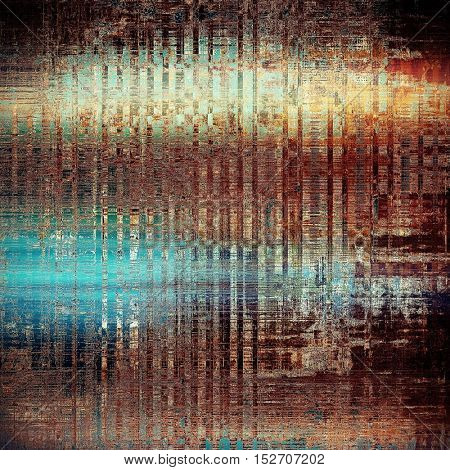 Highly detailed grunge background or scratched vintage texture. With different color patterns: yellow (beige); brown; blue; red (orange); black; cyan