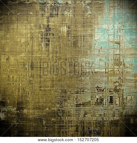 Mottled vintage background with grunge texture and different color patterns: yellow (beige); brown; gray; blue