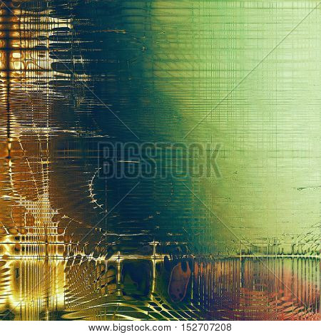 Colorful grunge background, tinted vintage style texture. With different color patterns: yellow (beige); brown; gray; green; cyan