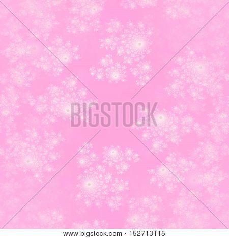 White and pink pastel soft girls design pattern background