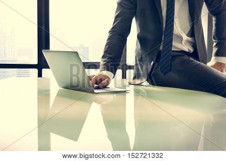 Businessman Entrepreneur Motivation Objective Concept