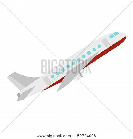 Plane icon. Flat illustration of plane vector icon for web design
