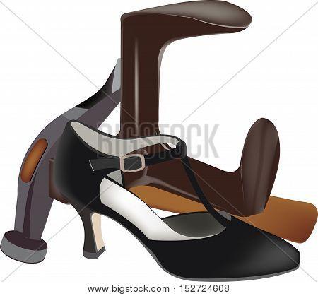 elegant shoe repair tools Elegant female shoe repair tools shoemaker