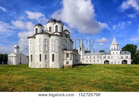 Historical Russian Orthodox Churches In Novgorod, Russia