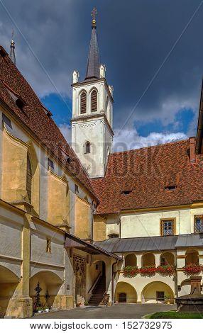 Goss Abbey is a former Benedictine nunnery in Leoben Styria Austria. Courtyard