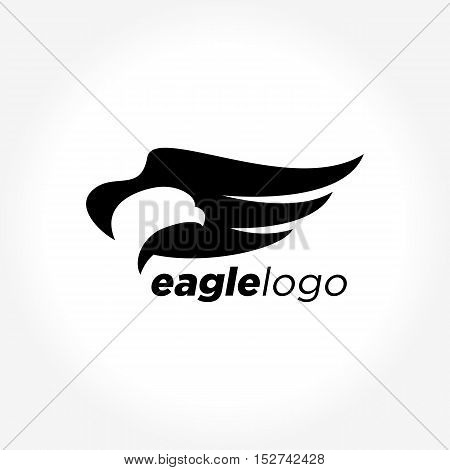 Animal logo collection, Eagle and Hawk Vector Logo template