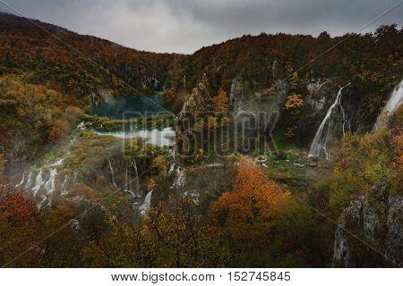 Landscape, Plitvice Lakes national park